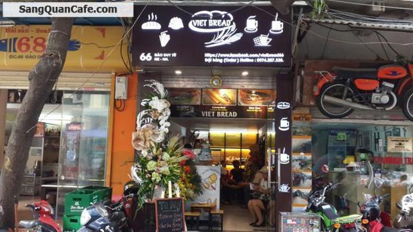 Sang nhượng cửa hàng đồ ăn nhanh – cafe Hà Nội