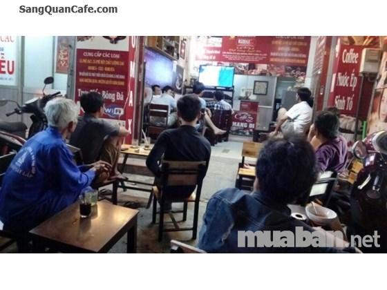 Sang nhượng gấp quán cafe đường Nguyễn Kiệm