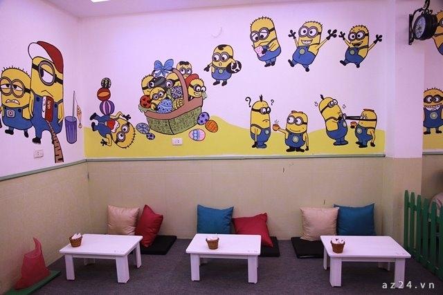 Sang Nhượng - Ktoon Cafe cho teen Hà Nội