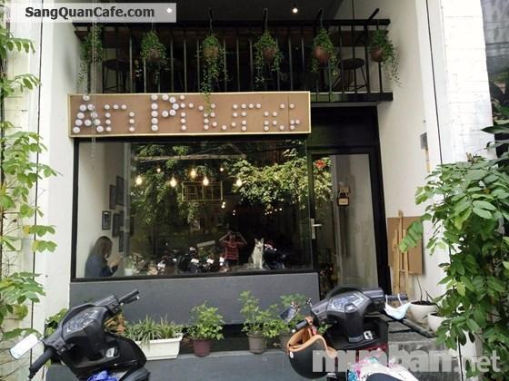 Sang nhượng quán cà phê sát đường lớn Phan Xích Long