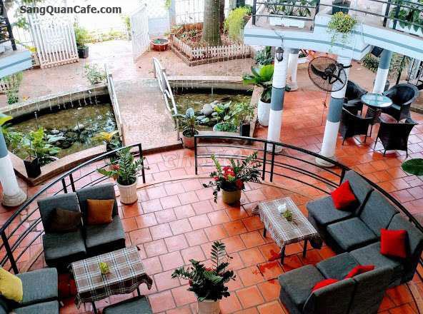 Sang nhượng quán cafe diện tích 600m² vị trí đẹp