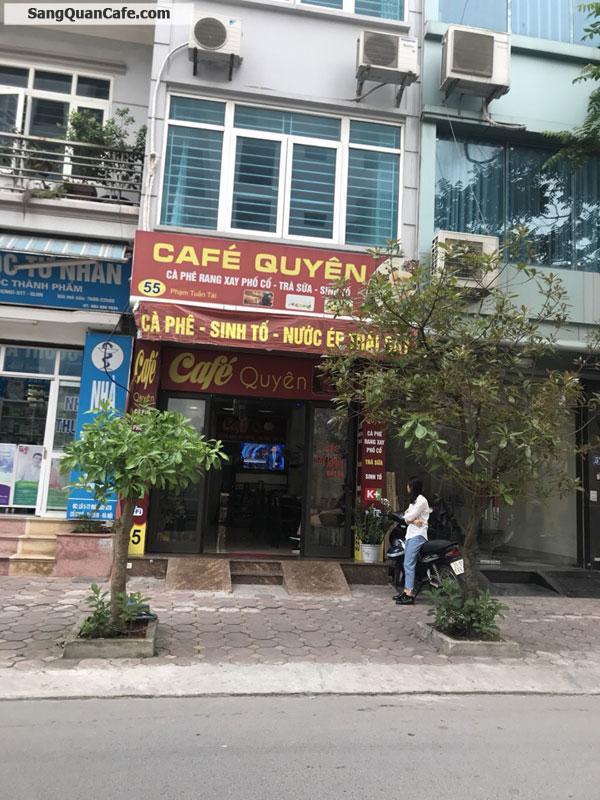 sang nhượng quán cafe đường Phạm Tuấn Tài, Cầu giấy