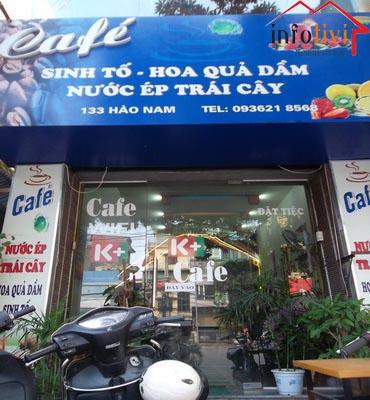 Sang nhượng quán cafe cơm văn phòng, Đống Đa, Hà Nội