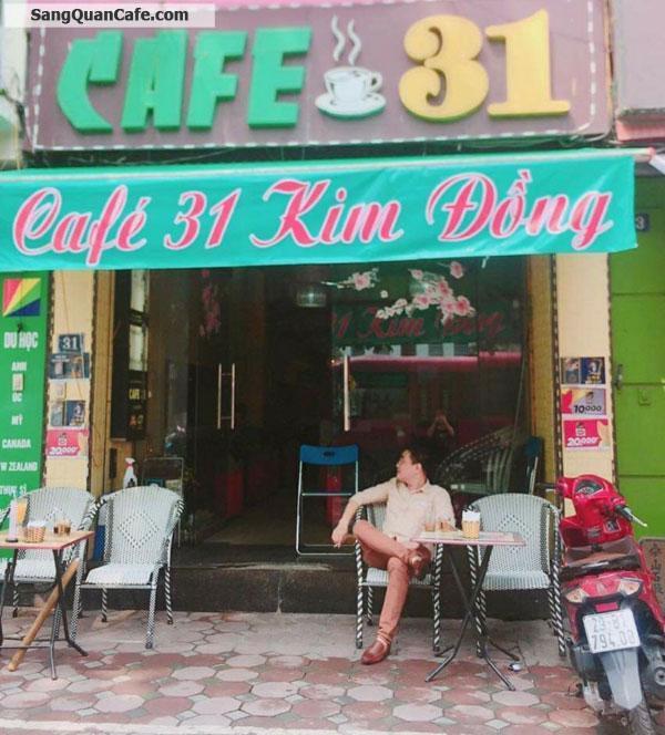 Sang nhượng quán cafe mặt đường Kim Đồng