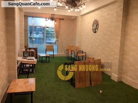 Sang nhượng quán cafe mặt tiền Q5