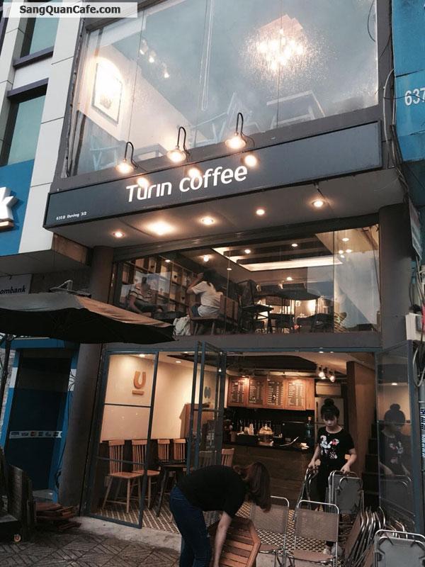 Sang nhượng quán cafe Turin 3/2 Quận 10