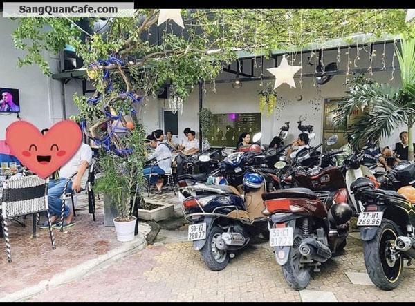 Sang quán cafe sân vườn 2 mặt hẻm xe hơi