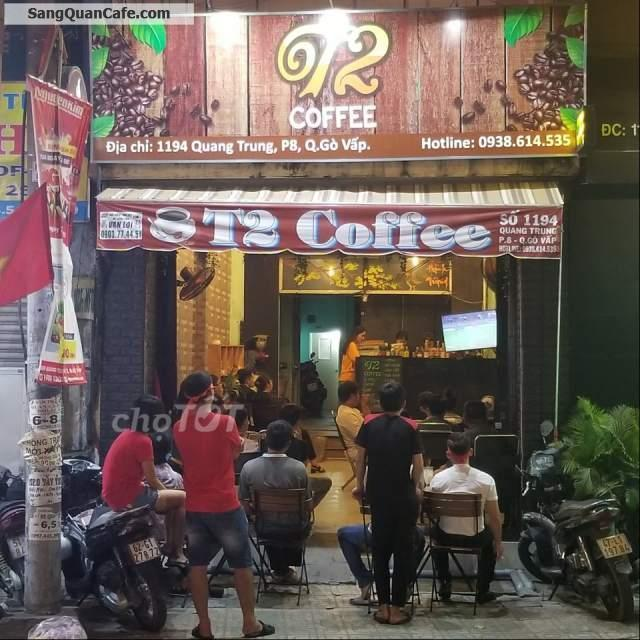 Sang quán  MT Quang Trung đang kinh doanh ổn định