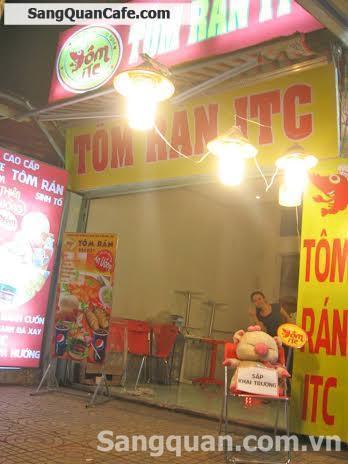 Sang quán ăn - cafe - trà sữa - trường Lê Văn Tám.
