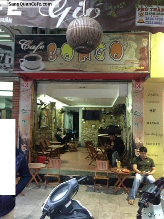 Sang quán cà phê BONGO  57 Nguyễn Hữu Huân, P. Hoàn Kiếm, Hà Nội