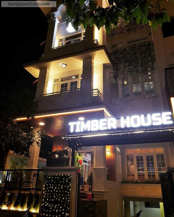 Sang quán cà phê gỗ Timber House Coffee khu Him Lam