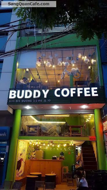 Sang quán cà phê góc 2 mặt tiền