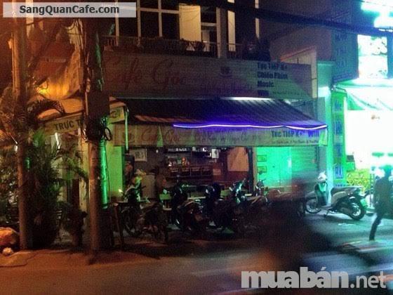 Sang quán cà phê góc 2 mặt tiền quận Tân Phú