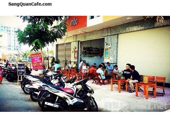 Sang quán cà phê mặt tiền đối diện Chung cư Sơn Kỳ
