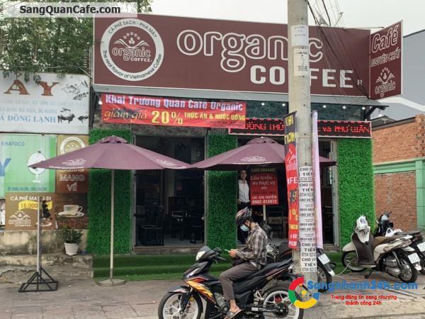 Sang quán cà phê mặt tiền đường Gò Dưa