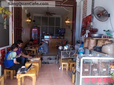 Sang quán cà phê nguyên chất