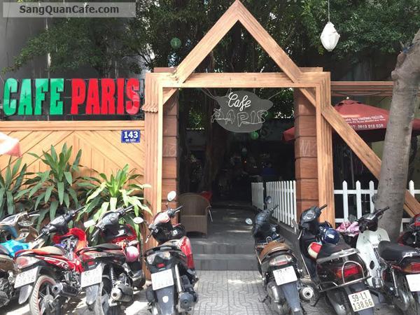 Sang quán cà phê sân vườn 340m2 ngay ngã 4 Gò Dầu