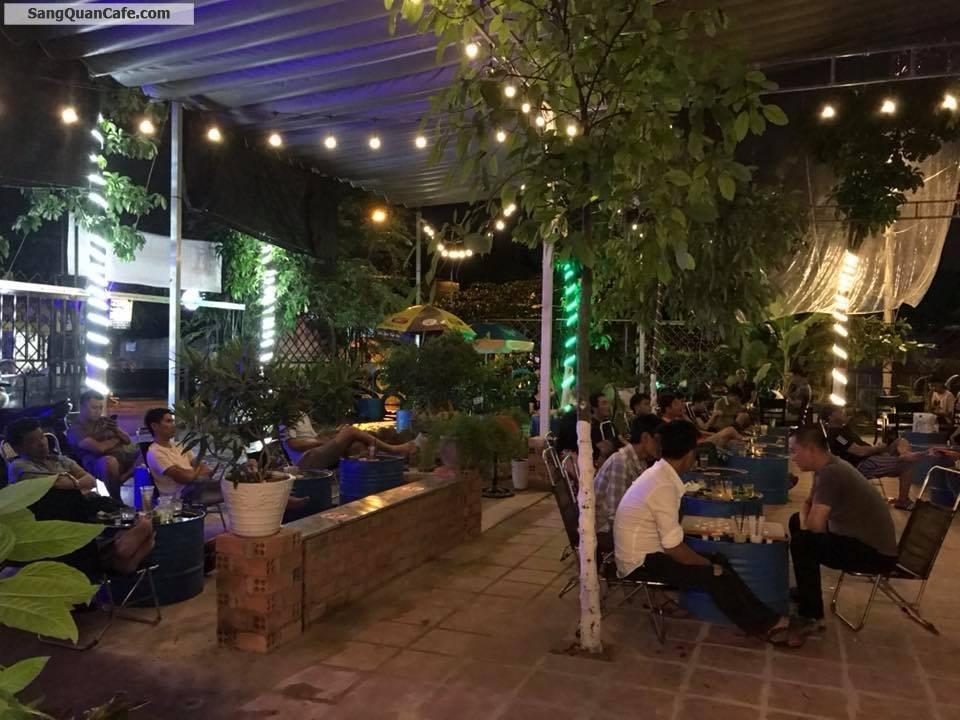 Sang quán cà phê sân vườn q12, diện tích 390m2