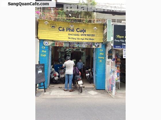 Sang quán cà phê tại quận Phú Nhuận