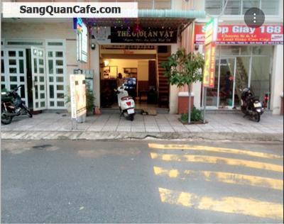 Sang quan cà phê, thức ăn vặt KDC Việt - Sin