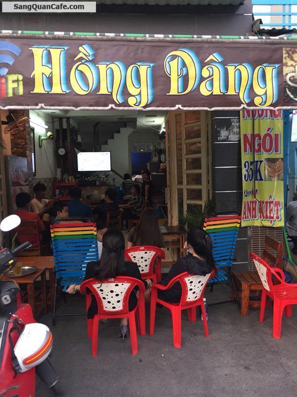 Sang quán càe mặt tiền Kênh Tân Hoá