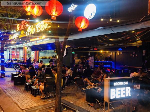 Sang Quán cafe & beer mặt tiền đường số 346 Phạm Văn Đồng.