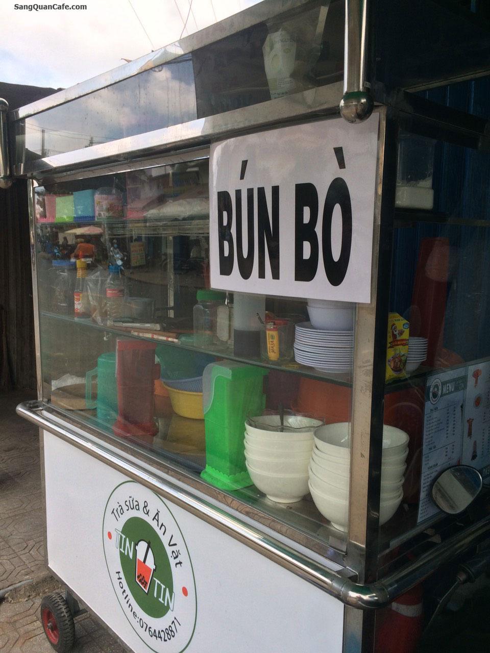 Sang quán cafe + Bún Bò