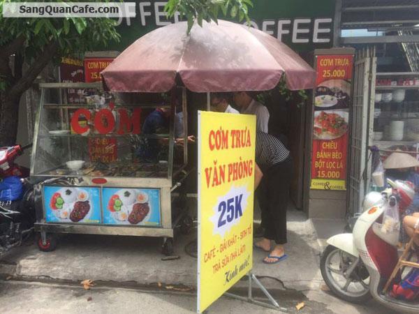 Sang Quán café- Cơm Văn Phòng đông khách gần Sân Bay