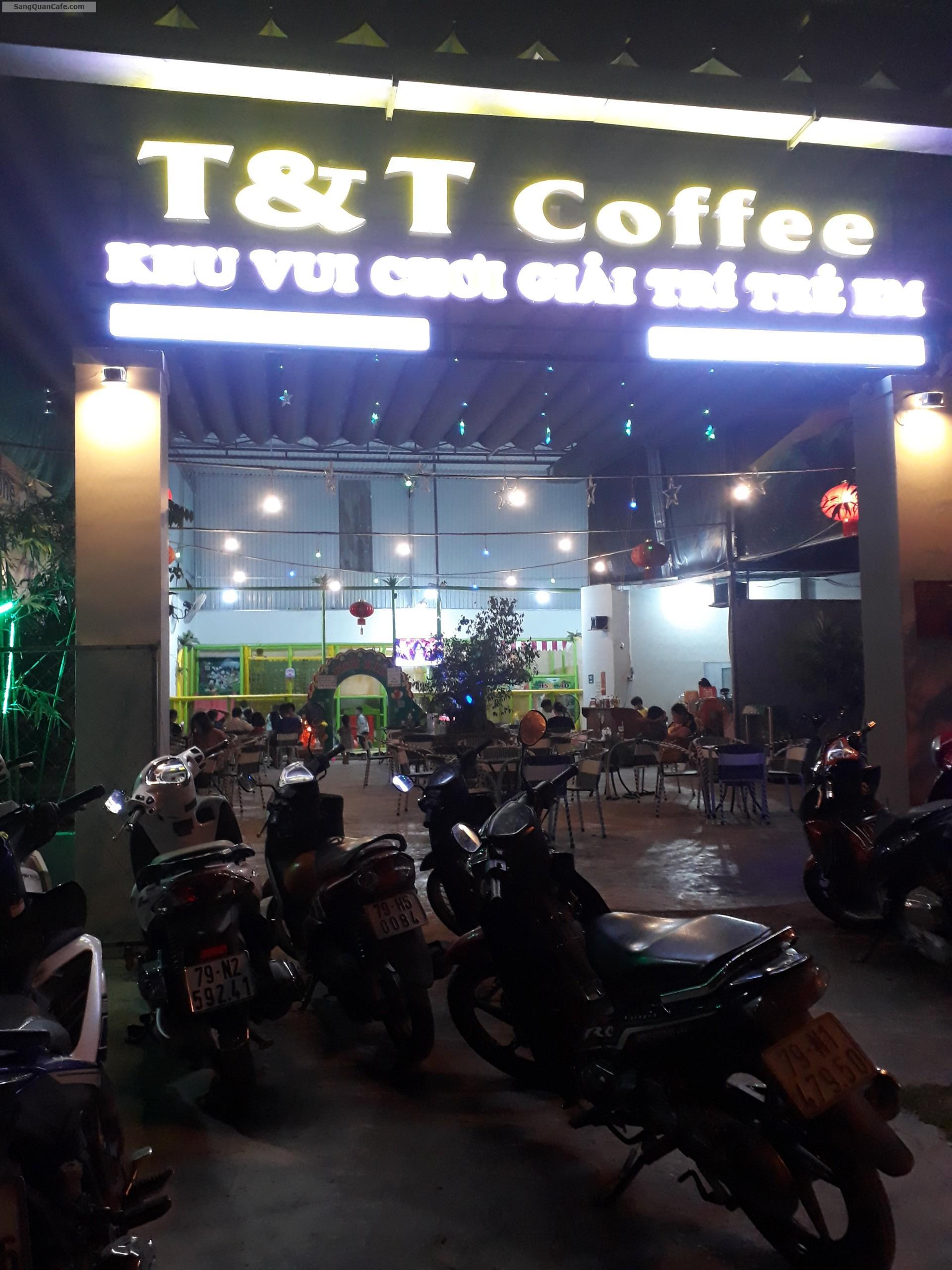 Sang quán cafe + khu vui chơi