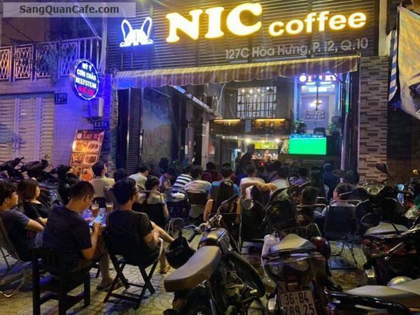 Sang quán cafe & nhà hàng mini ngay TT Quận 10