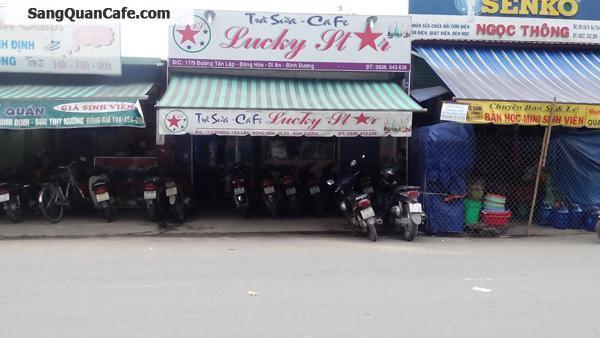 Sang quán Cafe + Trà sữa, + Ăn vặt