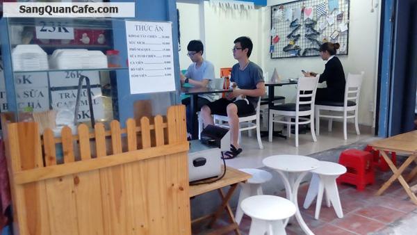 Sang quán Cafe + Trà sữa cổng sau ĐH HUTEC