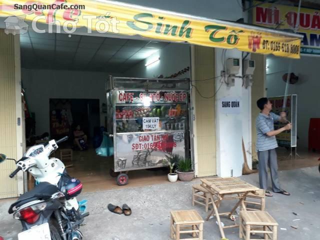 Sang quán Cafe & trà sữa giá rẻ quận 12