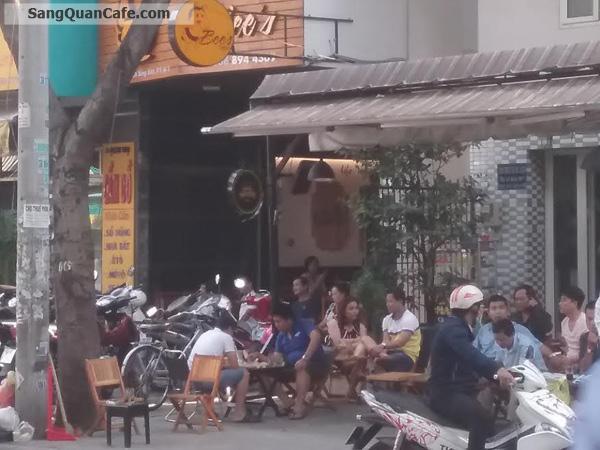 Sang quán cafe 2 mặt bằng quận 3