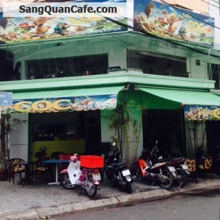 Sang quán cafe 2 mặt tiền  cơm văn phòng  quận 4
