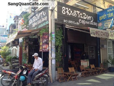 Sang quán cafe 2 mặt tiền đường Cao Đạt, Quận 5