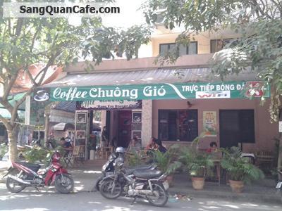 Sang quán cafe 2 mặt tiền đường CC2 Chung cư Sơn Kỳ Tân Phú