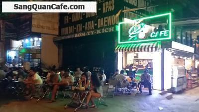 sang quán cafe 2 mặt tiền đường Điện Biên Phủ