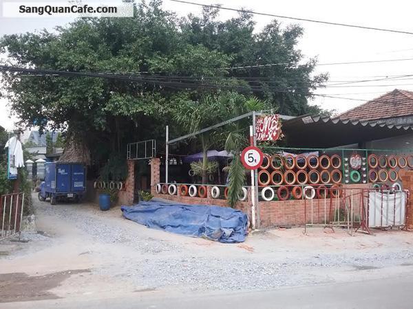 Sang quán cafe 2 mặt tiền đường Đông Nhi