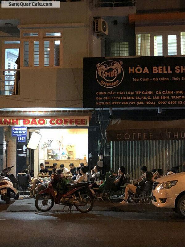 Sang quán cafe 2 mặt tiền đường Hoàng Sa