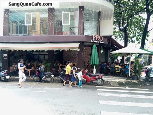 Sang quán cafe 2 mặt tiền đường Nguyễn Hậu