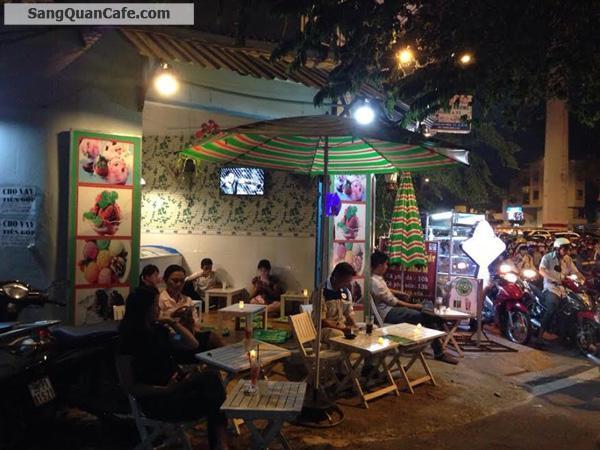 Sang quán cafe 2 mặt tiền đường Phạm Văn Đồng