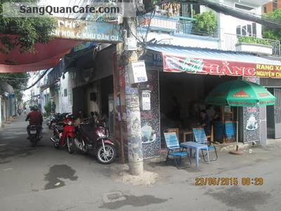 Sang quán cafe 2 mặt tiền đường Quang Trung