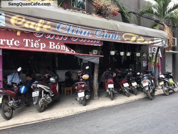 Sang quán cafe 2 mặt tiền đường Tân Sơn