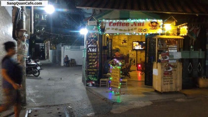 Sang quán cafe 2 mặt tiền đường Thành Thái