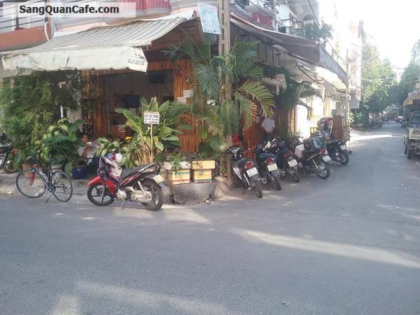 Sang quán cafe 2 mặt tiền khu Bầu Cát