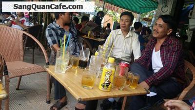 Sang quán cafe 2 mặt tiền khu chợ mới Bà Hom