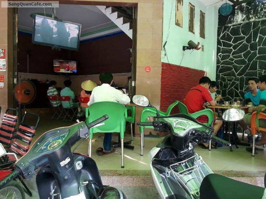 Sang quán cafe 2 mặt tiền Khu chung cư sơn Kỳ