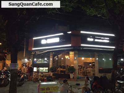 Sang quán cafe 2 mặt tiền khu cư xá Bắc Hải quận 10