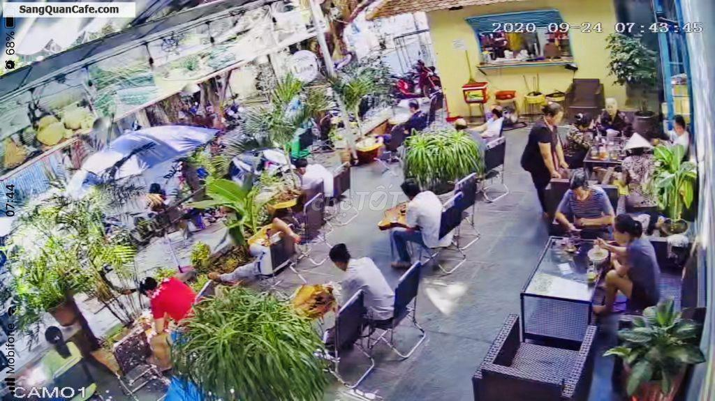 Sang quán cafe 2 mặt tiền kinh doanh cực tốt